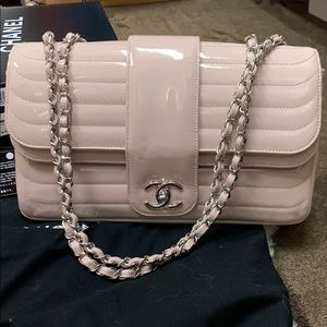 Chanel patent leather authentic